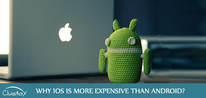 Why ios is more expensive than android